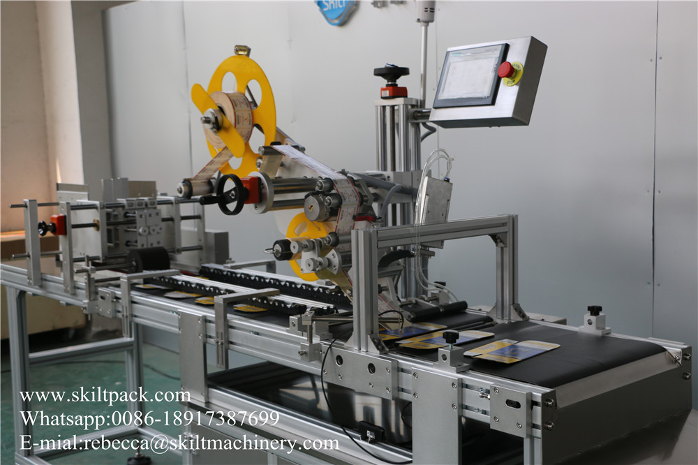 Card Paging & Labeling Machine