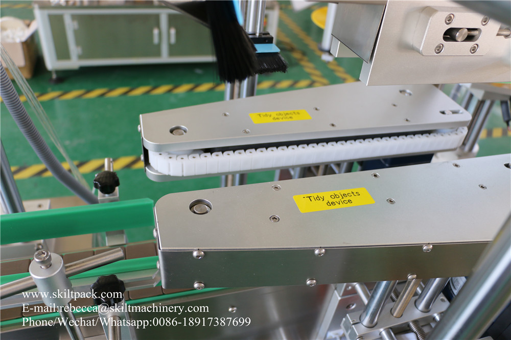 DPM-DLM-SLM-A Automatic top & front & back and neck labeler