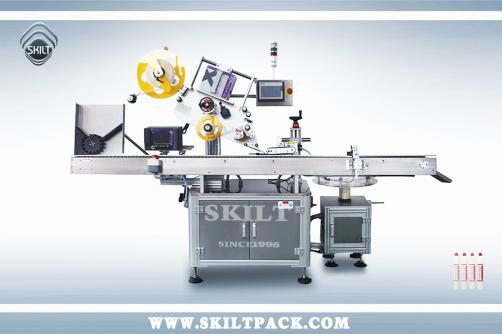Small Glue Bottle Labeling Machine
