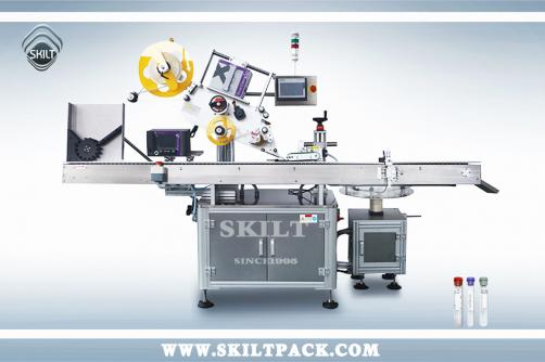 Test Tube Labeling Machine