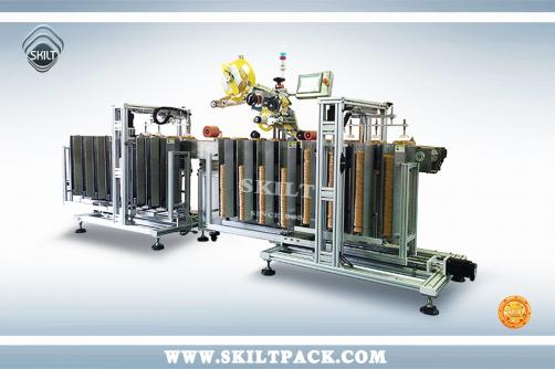 Lid Labeling Machine