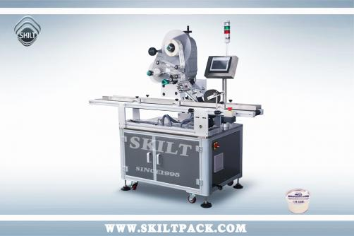 Cup Top Labeling Machine