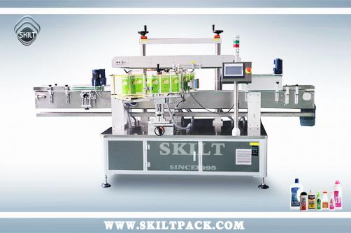 Shampoo Bottle Front & Back Labeler