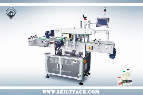 Square Milk Bottle Labeling machine