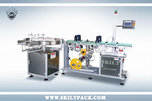 Carton Bottom Labeling machine