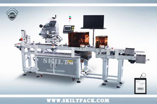 Tags Paging & Labeling Machine