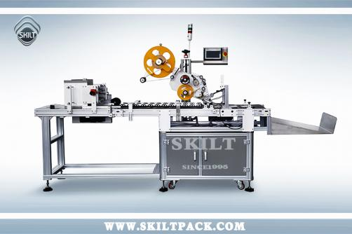 Unshaped Box Paging & Labeling Machine