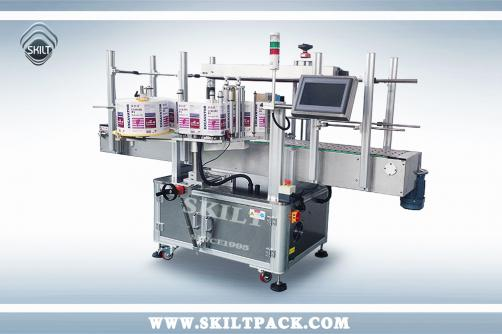 Big Bucket Labeling Machine