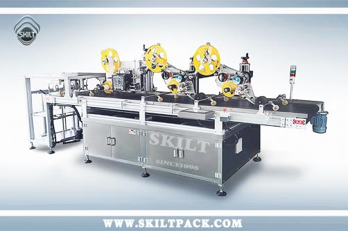 Top Three Stickers Labeling Machine