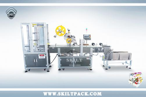 Automatic Egg Carton Labeling Machine