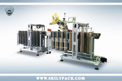 Auto Lid&Cap Labeling machine