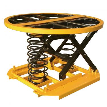 360 Turntable Level Electric Scissor Lift Table