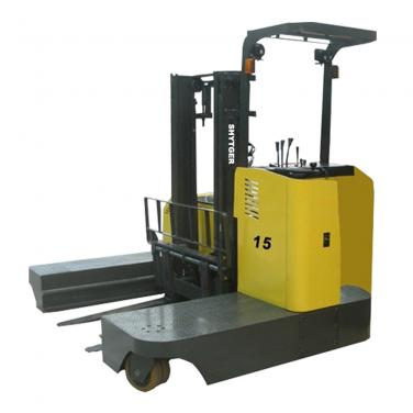 1.5-2.5 Ton Side Loading Reach Forklift (Narrow Aisle)