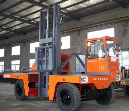 3-10 Ton Diesel Side Loader Forklift