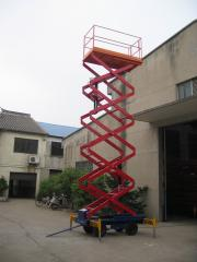Lift hydraulic rise work platform with SJY0.5-11  Manufacturer In China