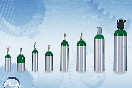Medical Aluminum Cylinder
