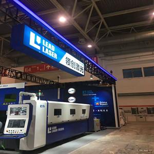 15KW CNC laser cutting machine in CIMES 2018 in Beijing