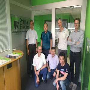 Technical discussion between Prima power and Lead Laser in Italy