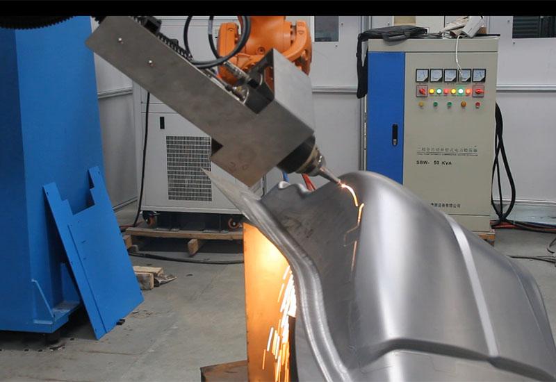 3D Laser Cutting Machine robot LEAD Π3DF-4020