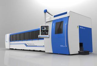 Automatic loading and unloading tube cutting machine LEAD Τ 6515