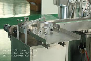 Automatic eye drops square bottle filling machine