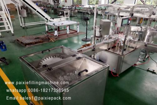 Automatic  30ml 50ml  plastic bottle e juice filling capping machine