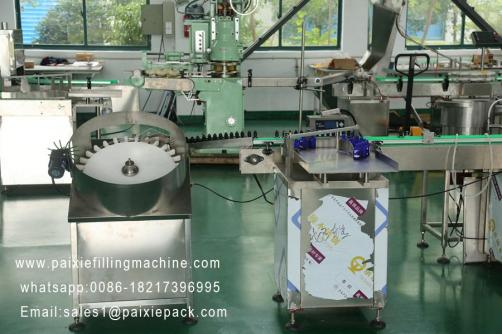 Causticity chemical liquid bottle filling capping machine