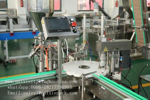 Customized  filling capping machine for nail polish bottles