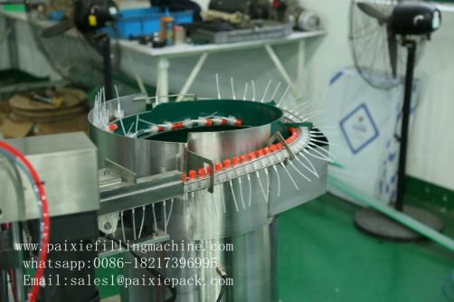 Plastic spray bottle filling capping machine for cosmetics
