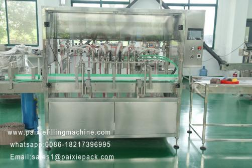 Glass bottle wine filling capping machine