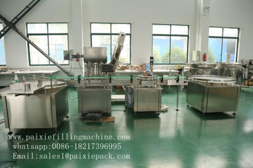 Tomato sauce tin can filling seeming machine