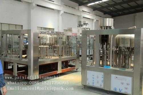Gas beverage carbonate beverages bottle filling plant