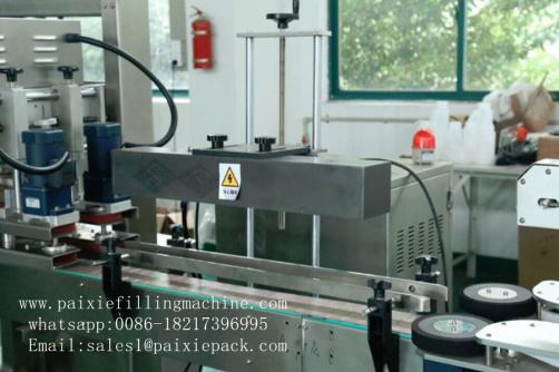Plastic round bottle Aluminum foil sealing machine