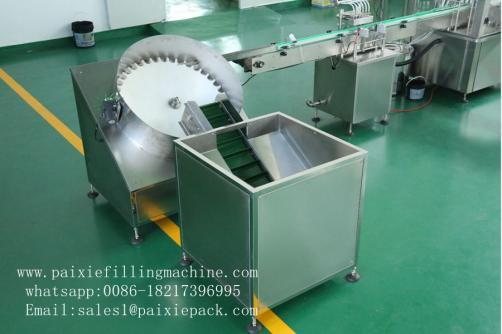 Automatic 10ml 15ml plastic bottle e liquid  filling capping machine