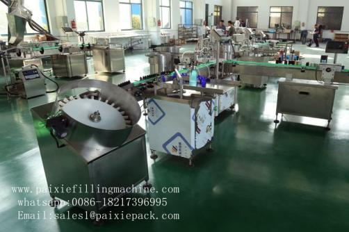 Automatic high vicidity filling capping machine