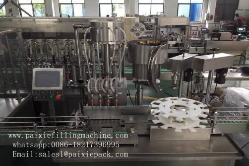 Round bottle metal cap sealing machine