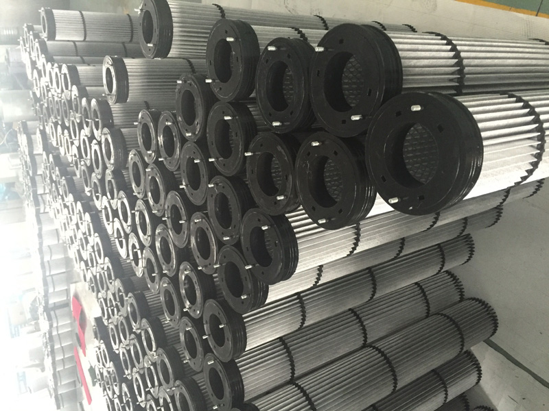 Long pleated bag filter For Cement Industry