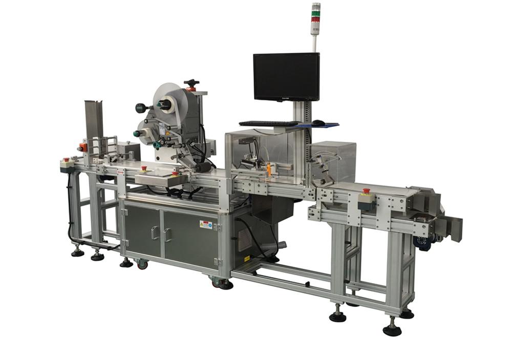 Máquina Etiquetadora y paginación