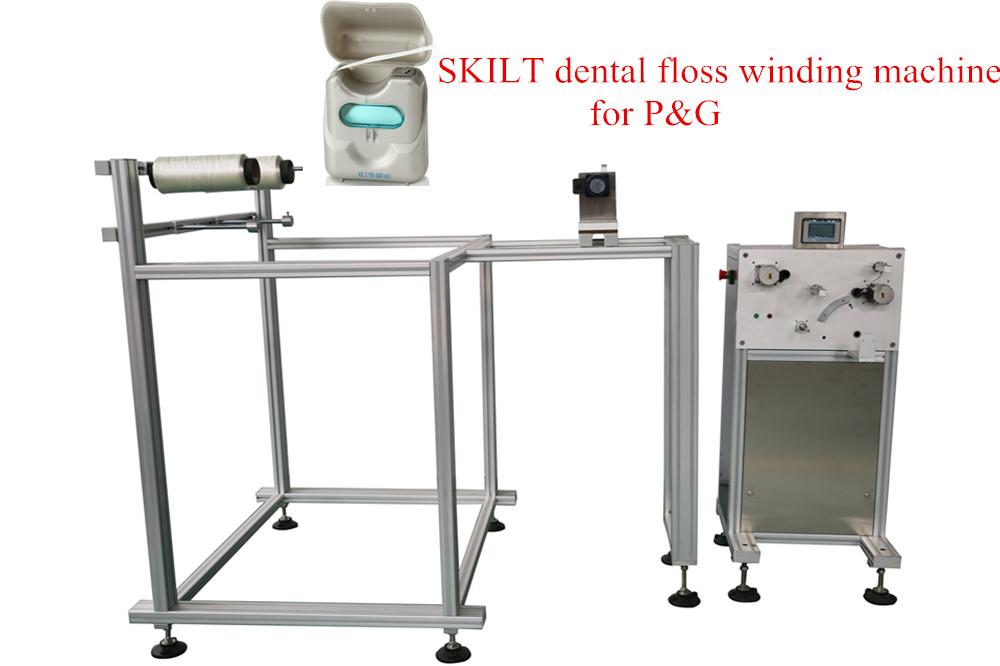 Máquina de Enrollado de Hilo Dental