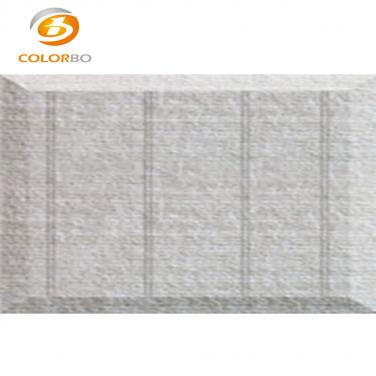 Polyester fiber embossed acoustic panels