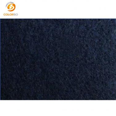Polyester fiber acoustic panel interior