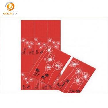 Polyester fiber printing panel
