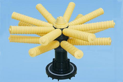 6'Flange Side Mount 16 Claws Bottom Distributor