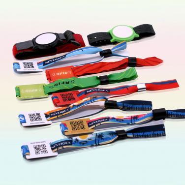 RFID Woven Wristband