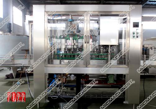 Energy drink filling seaming machine can package