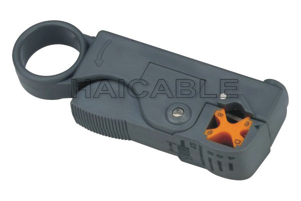 Rotary Coaxial Stripping Cable Stripper Cutter Tool For RG-58//59//62//6QS//3C//4C//5C