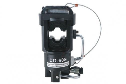 Max Φ60mm Copper Aluminum Tube Crimping Head CO-60S