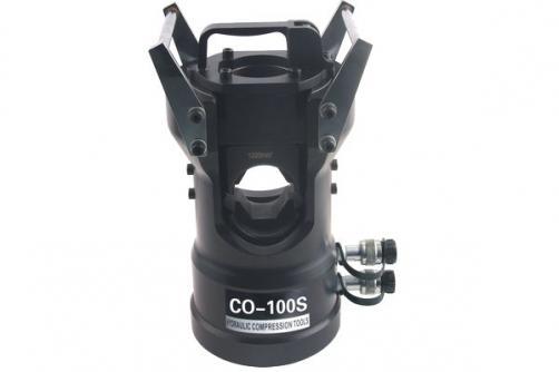 Max Φ71mm Copper Aluminum Tube Crimping Head CO-100S