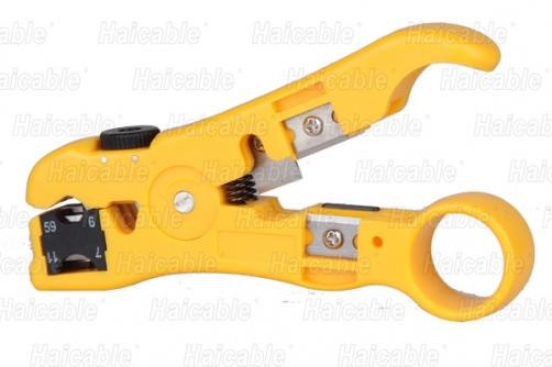UTP STP CAT-5 and Coaxial Cable Stripper HT-352