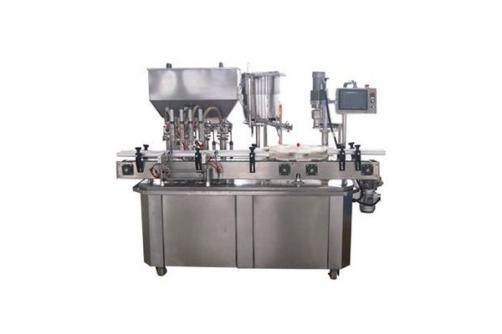 Semi Liquid Filling And Capping Machine